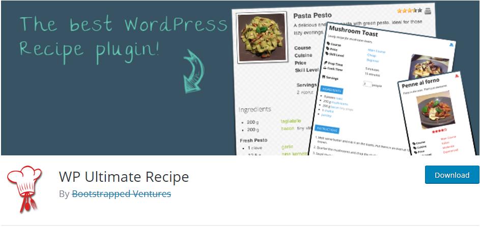 Mejores Plugins Wordpress De Recetas De Cocina